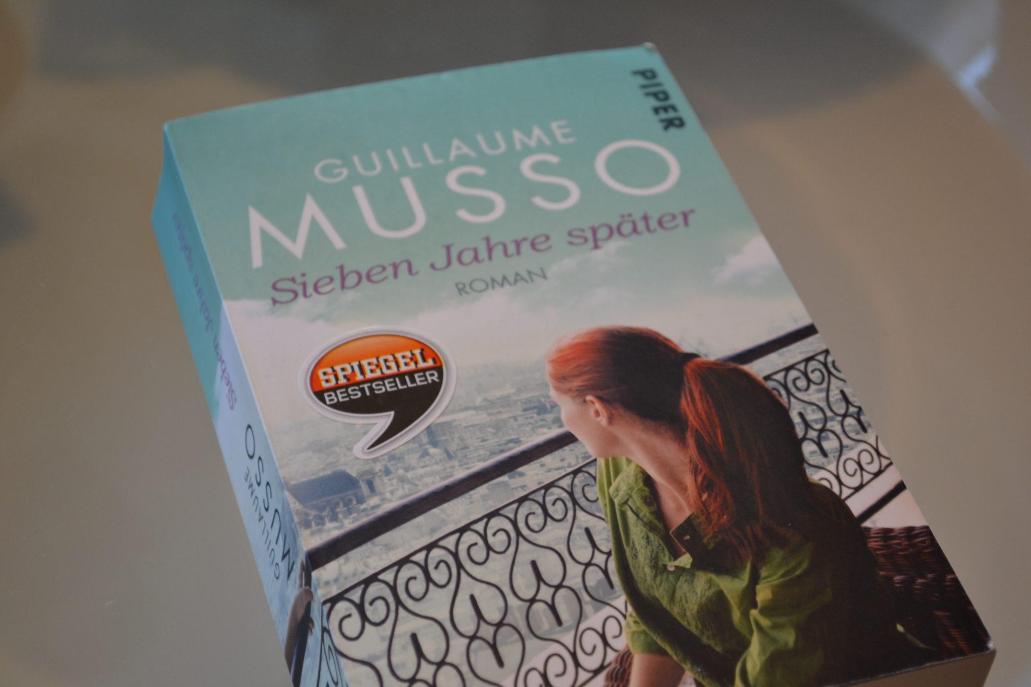Books: Sieben Jahre später | Guillaume Musso - DSC 0024