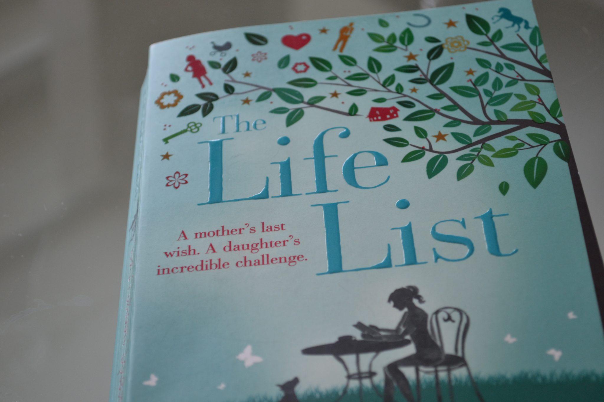 Books: The Life List | Lori Nelson Spielman - DSC 0163