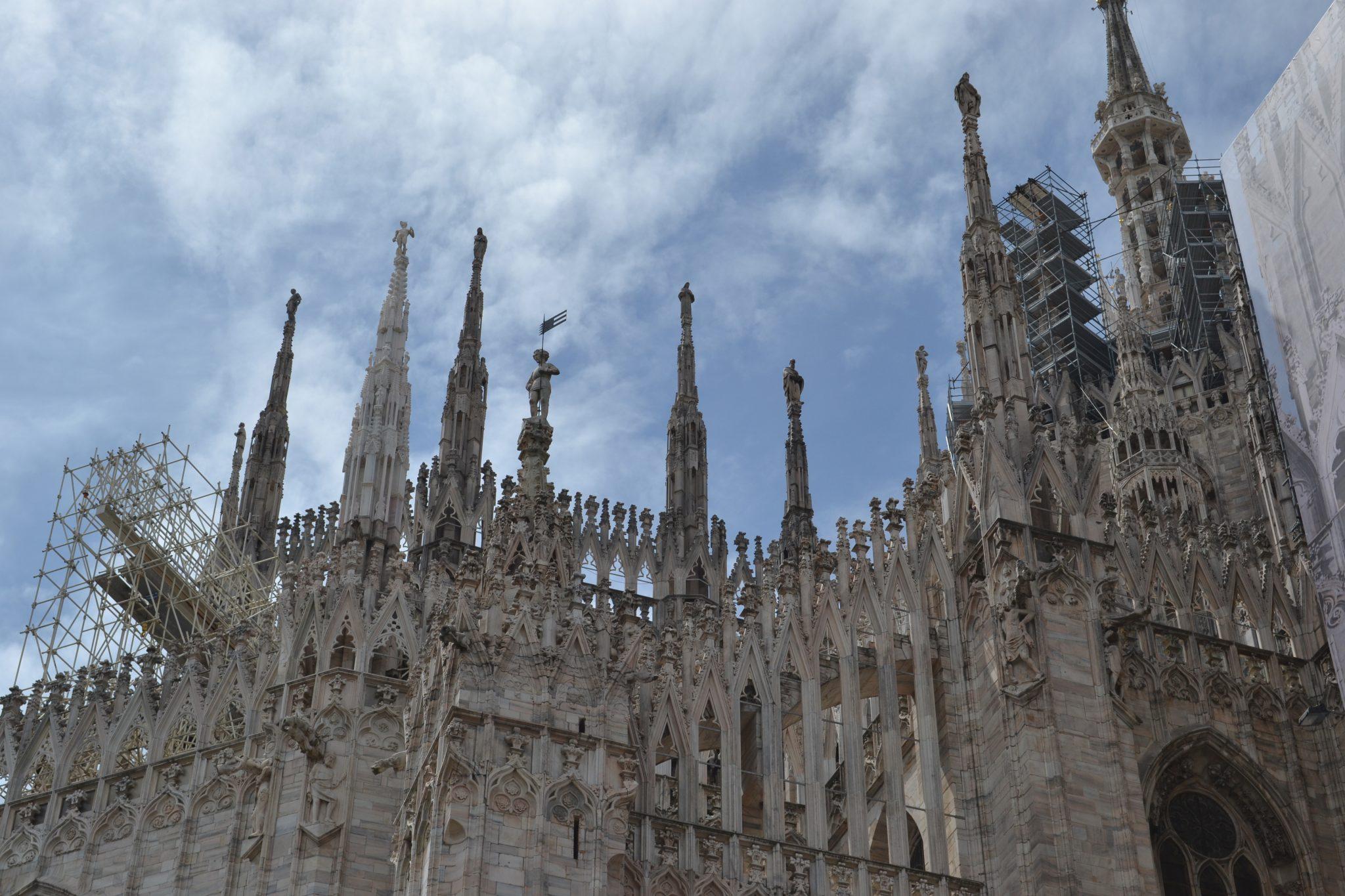 Mailand: Im und auf dem Dom - DSC 0001