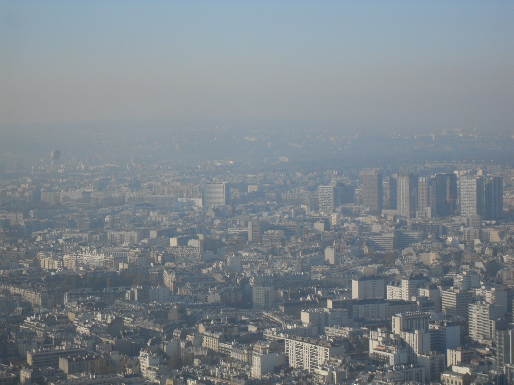 Travel Tip: Paris from above - SDC17085 1024x768