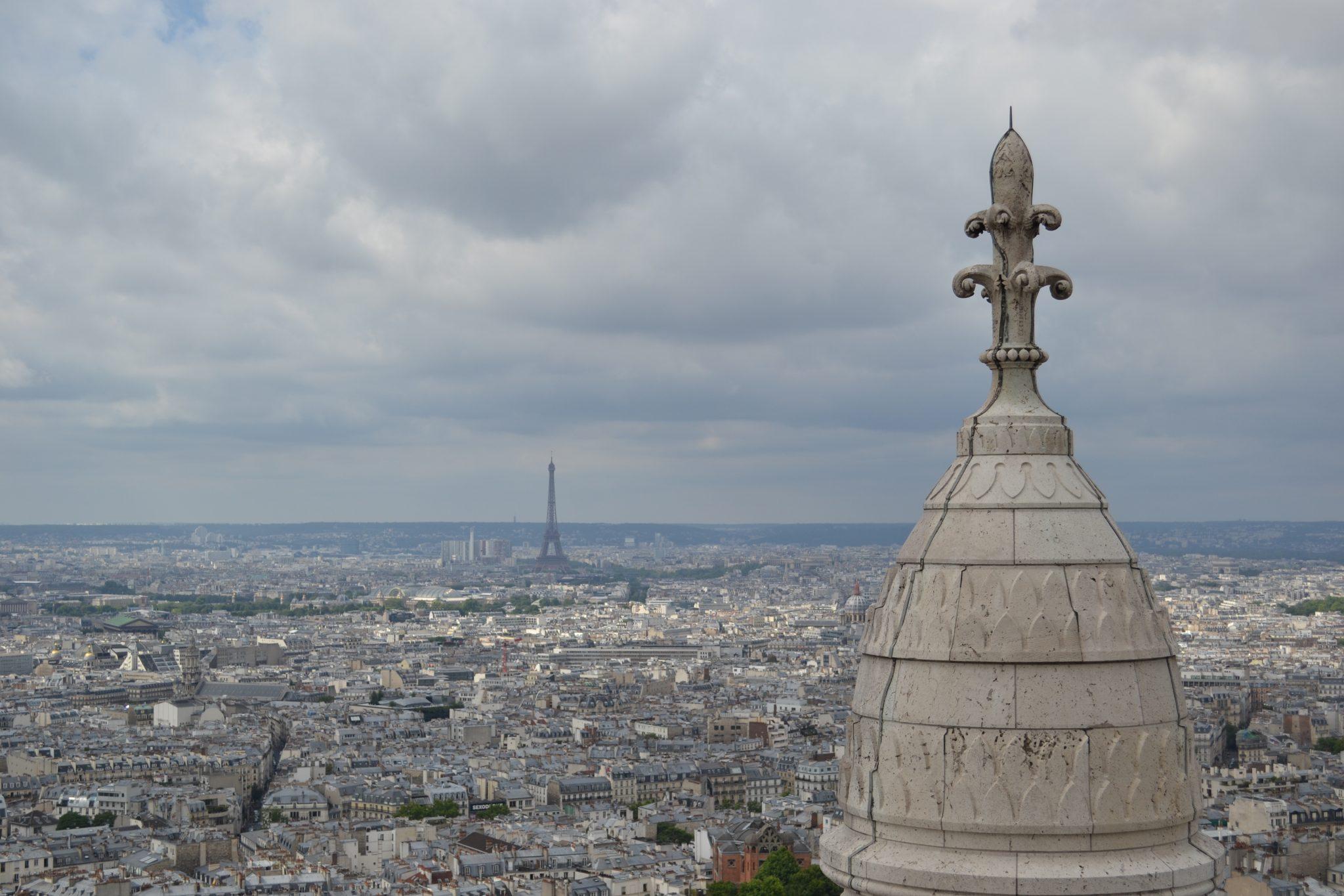 Die beste Aussicht in Paris: Sacre Cœur - DSC 0215