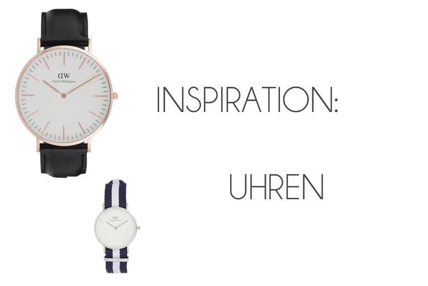 Inspiration: Uhren - meine derzeitigen Favoriten - Uhren2
