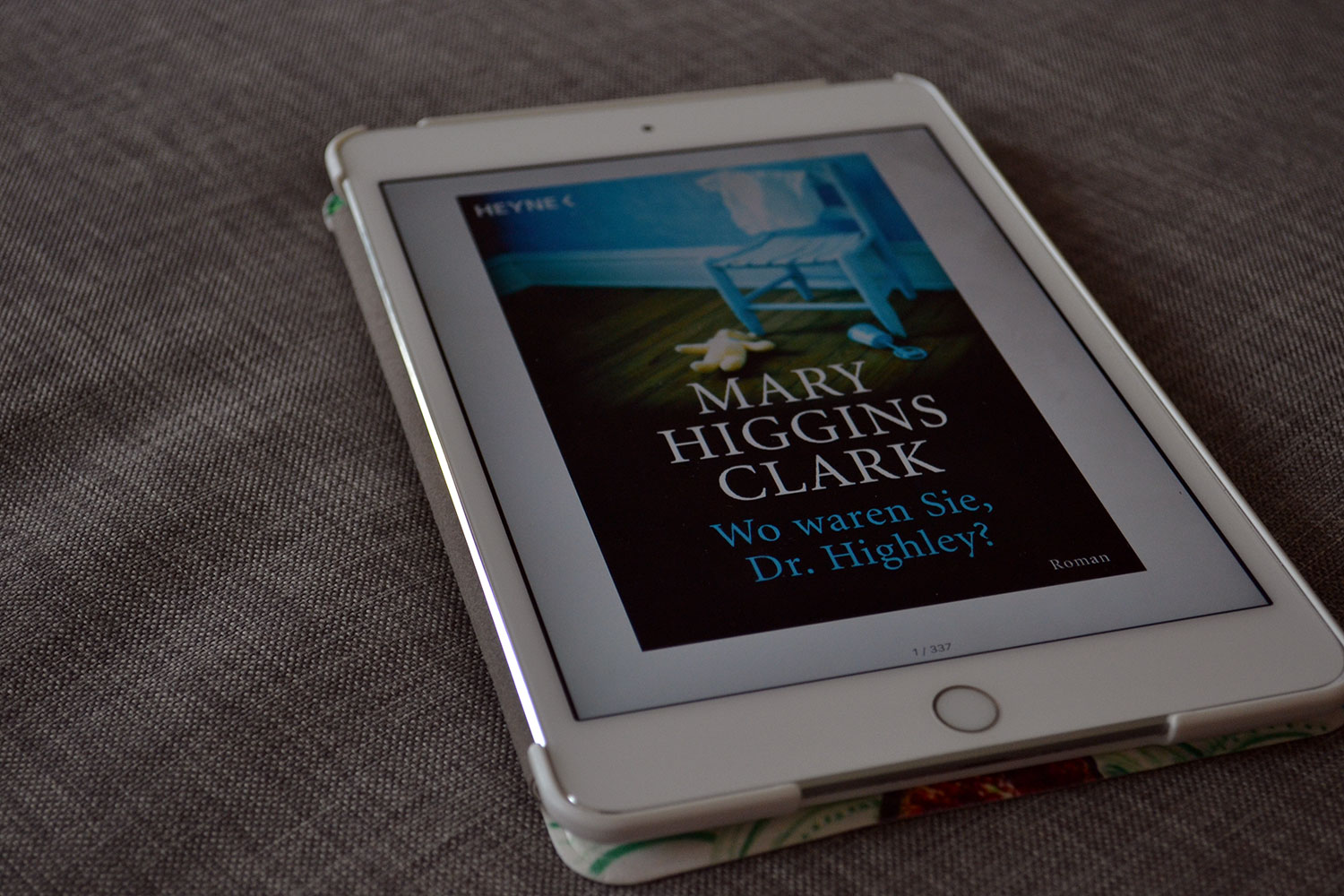 Books: Wo waren Sie, Dr. Highley | Mary Higgins Clark - DSC 0675