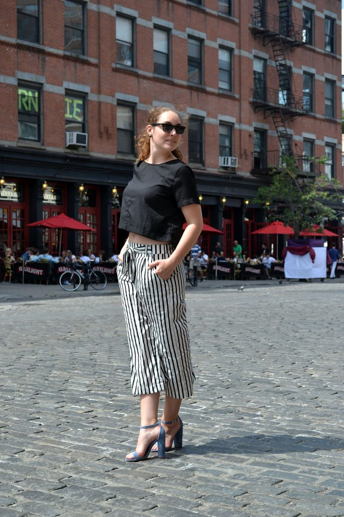 Outfit: Culottes // Steve Madden Heels | New York - Culottes 3 683x1024