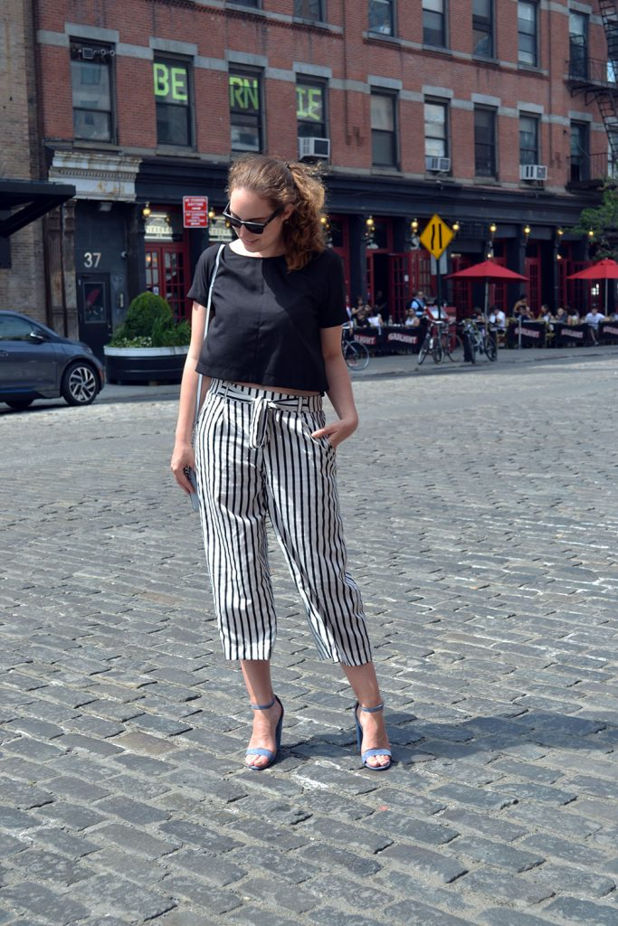 Outfit: Culottes // Steve Madden Heels | New York - Culottes 4 683x1024