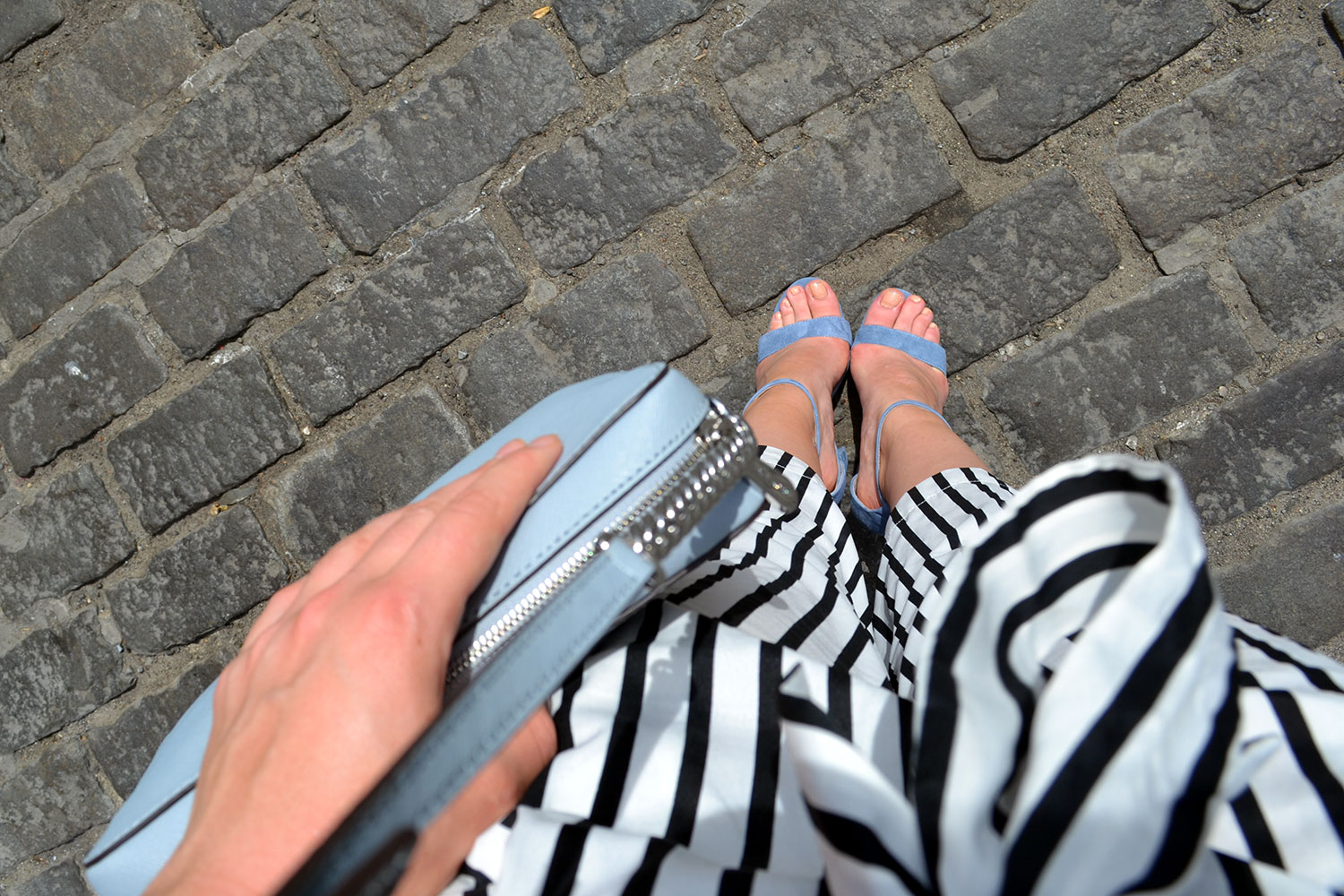 Outfit: Culottes // Steve Madden Heels | New York - Culottes 6