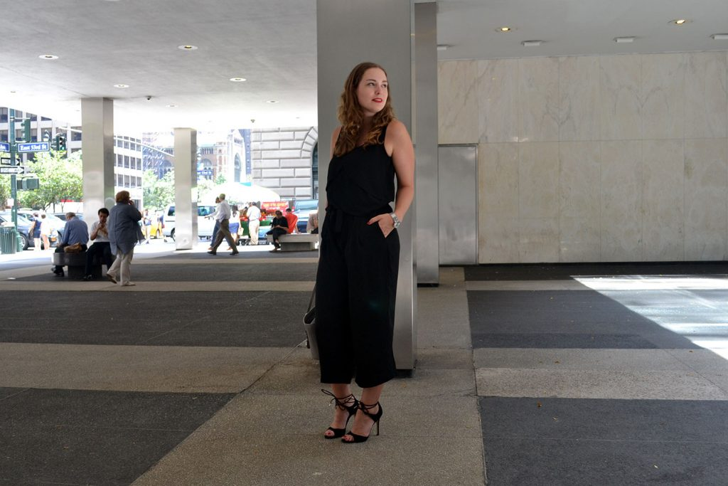 Outfit: Black & Grey // Culottes | New York - DSC 0195 1024x683