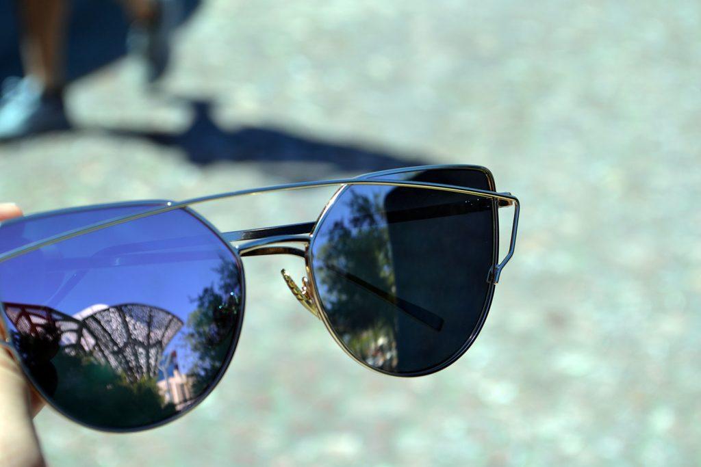 Outfit: Levi's Shorts // Rosegold Sunglasses | Las Vegas - Rosegold Sunglasses 3 1024x683