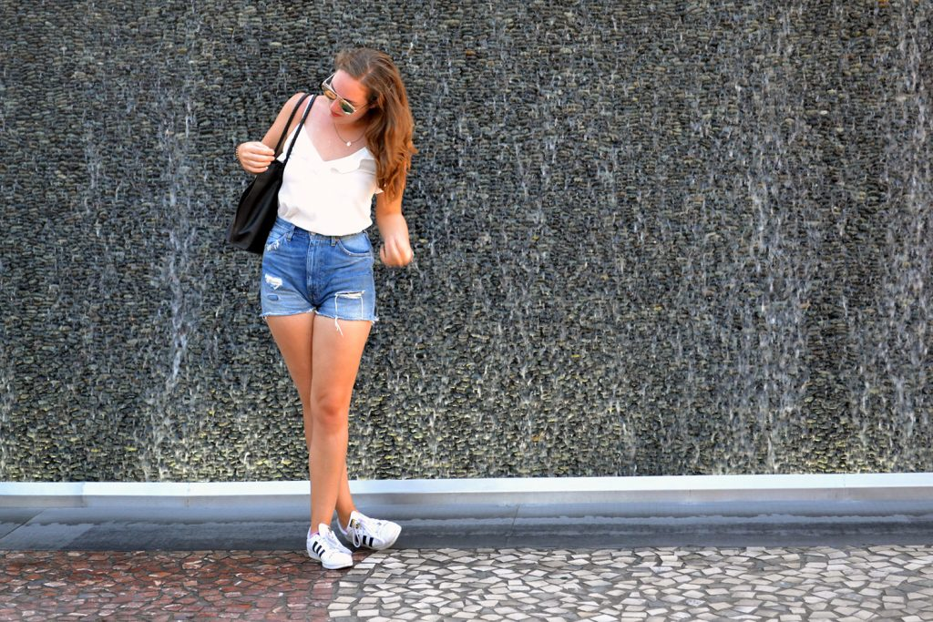 Outfit: Levi's Shorts // Rosegold Sunglasses | Las Vegas - Rosegold Sunglasses 7 1024x683