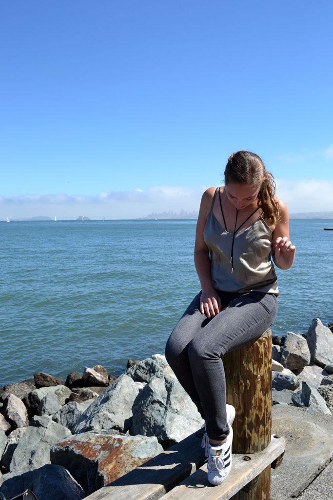 Outfit: Lingerie Trend // Levi's Jeans | San Francisco - San Francisco 5 683x1024