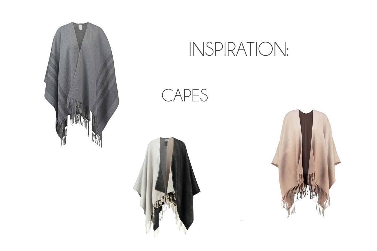 Inspiration: Capes | Autumn Trends 2016