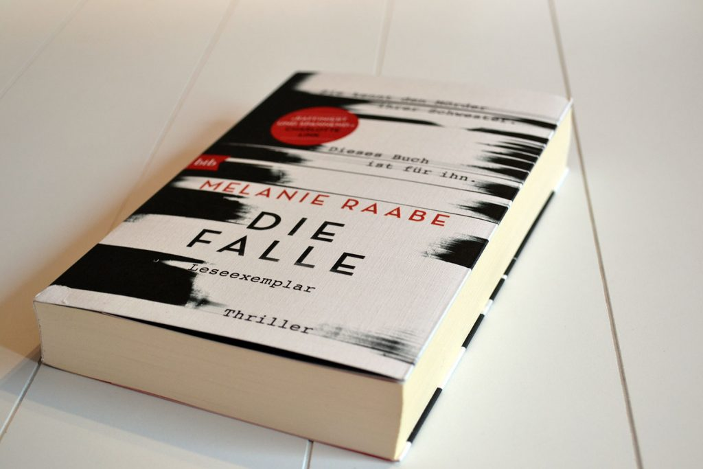 Books: Die Falle | Melanie Raabe - Die Falle 1024x683