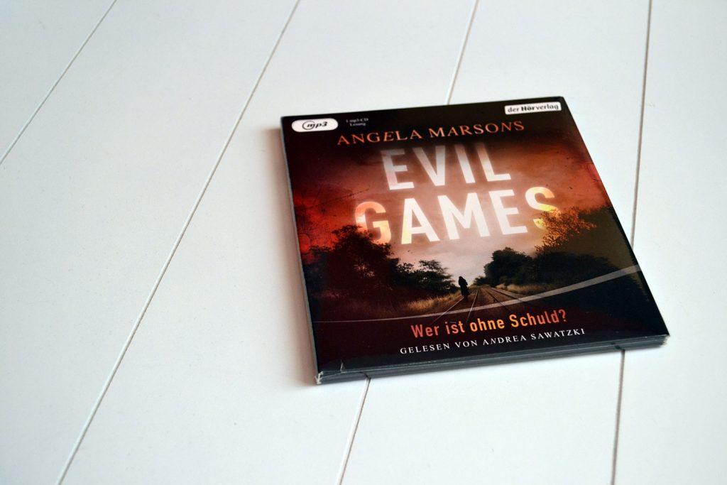 Books: Evil Games - Wer ist ohne Schuld? | Angela Marsons - Evil Games 1024x683