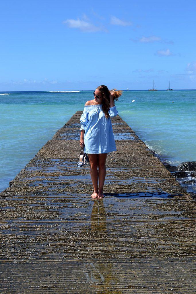Outfit: Off-Shoulder Dress | Hawaii - Off Shoulder Dress 6 683x1024