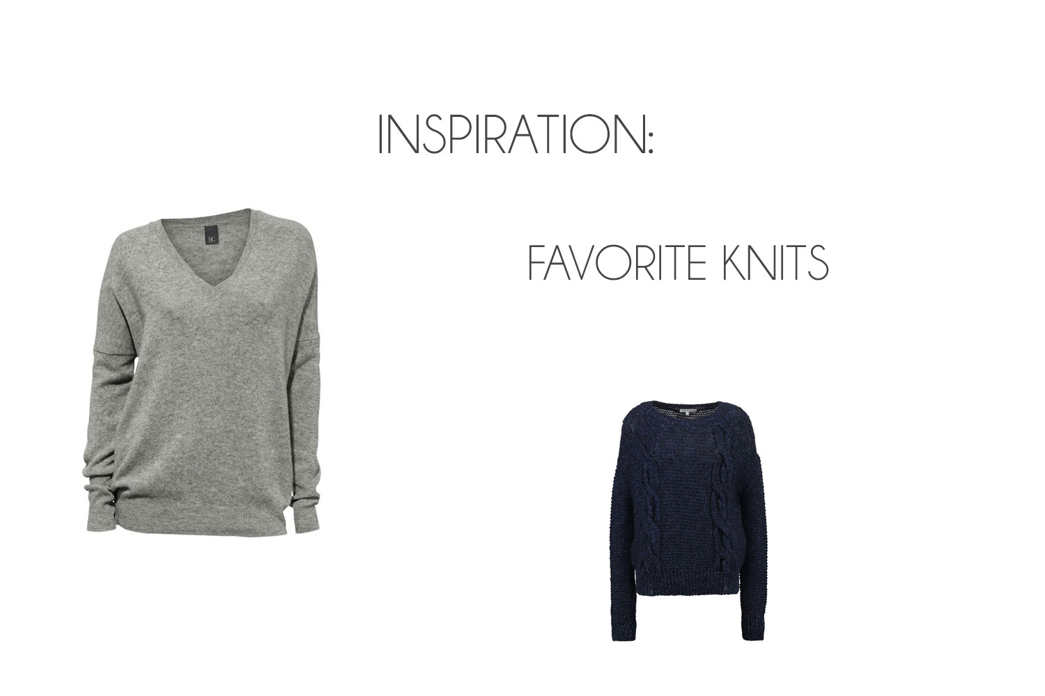 Inspiration: Favorite Knits ♥