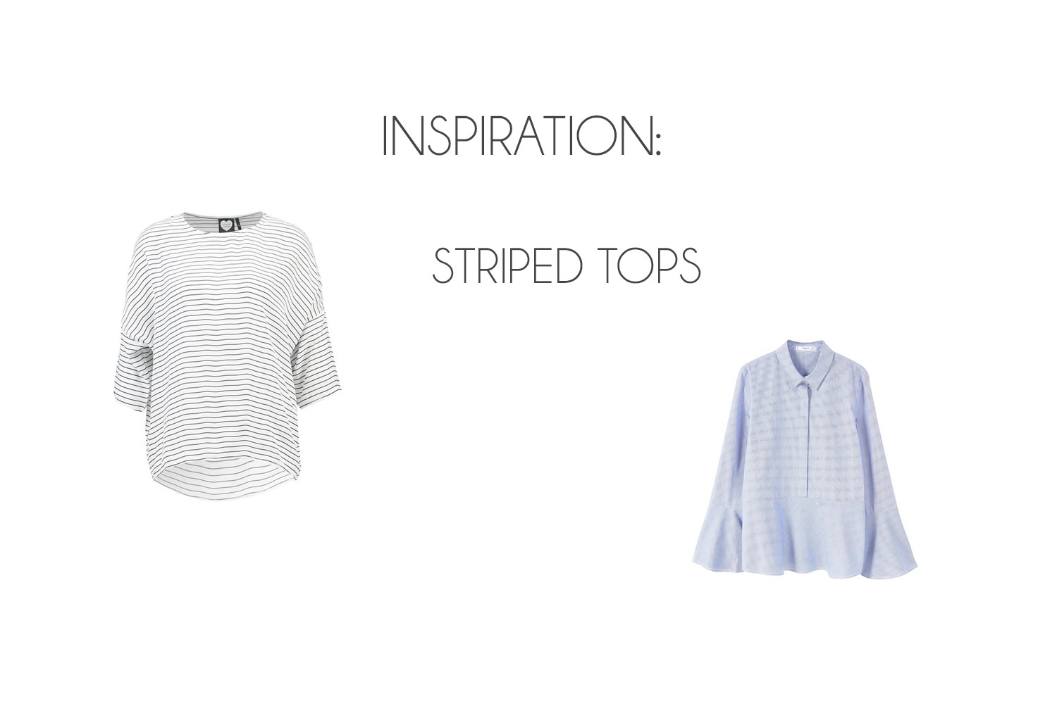 Inspiration: Striped Tops - Striped Tops
