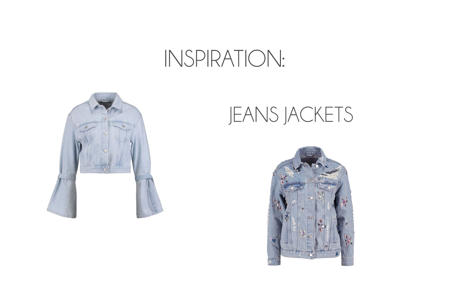 Inspiration: Jeans Jackets - Jeans Jacken