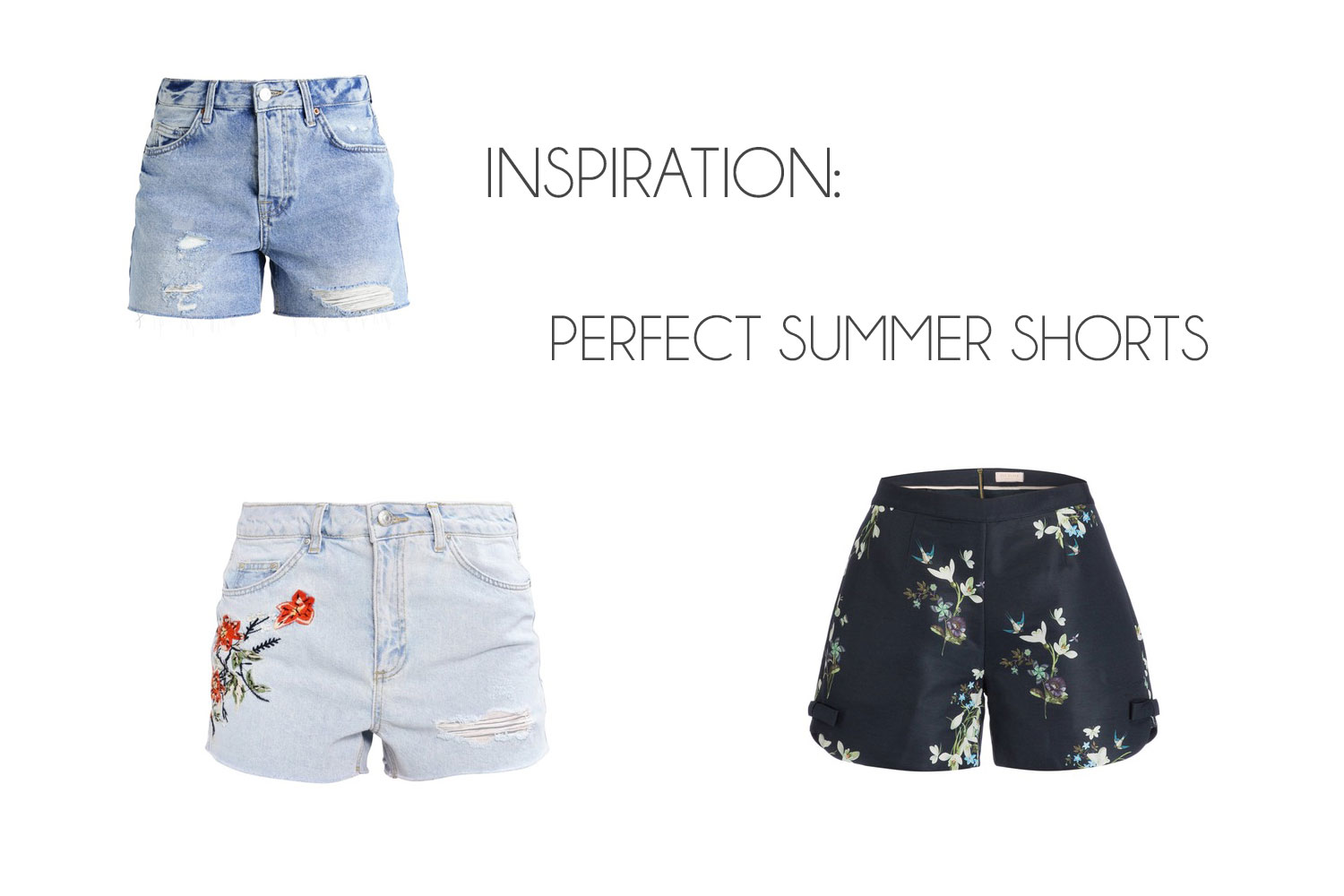 Leven gebeurt offline! - Perfect Summer Shorts