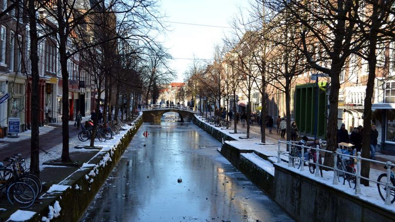 Travel Diary: Snow in Delft | The Netherlands